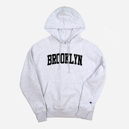 Champion USA챔피언_REVERSE WEAVE HOODED PULLOVER BROOKLYN (ASH)