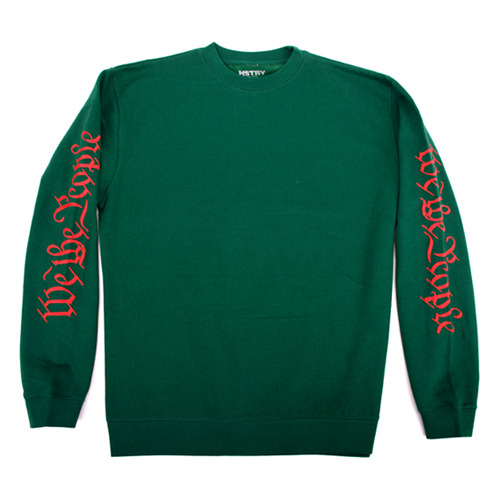 HSTRYScrolls Crew Neck (Forest Green)