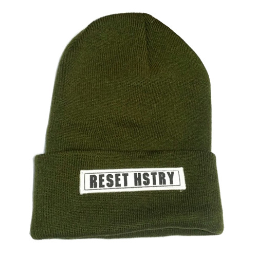HSTRYReset HSTRY Beanie (OLIVE)