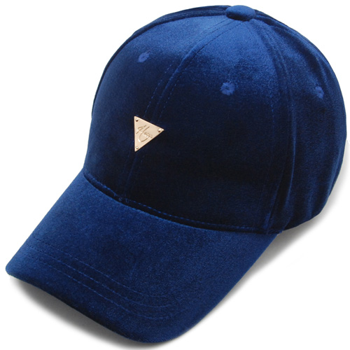 HATER헤이터_HATER Velvet Cap Royal Blue