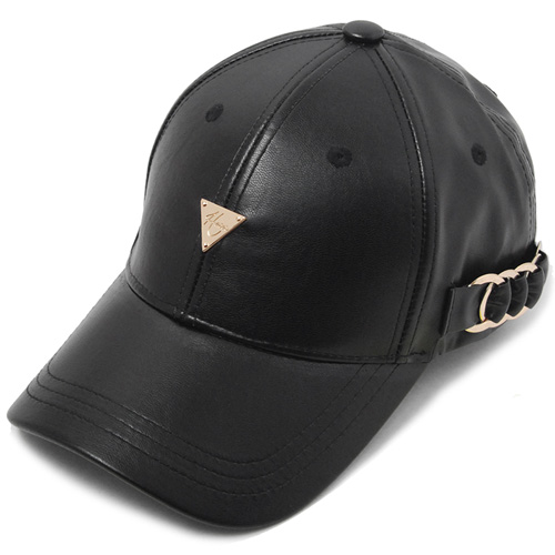 HATER헤이터_HATER Side Metal Hoop Cap Black