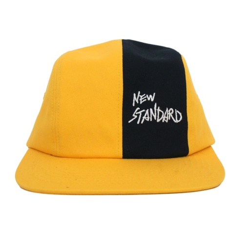 MONKIDS몬키즈_Heritage 4 Panel Cap YELLOW
