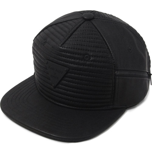 HATER헤이터_HATer X Karl Alley Ribbed Leather Snapback