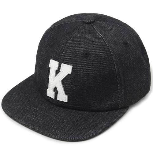 "HATER헤이터_HATer X Karl Alley Denim ""K patch"" Snapback"