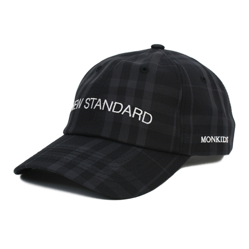 MONKIDS몬키즈_NEW STANDARD Check First 6P black