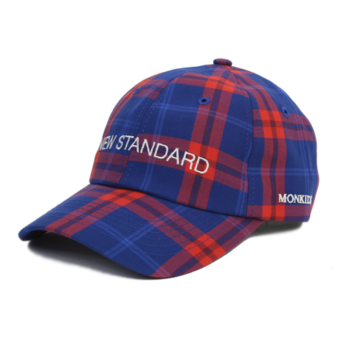 MONKIDS몬키즈_NEW STANDARD Check First 6P blue/red