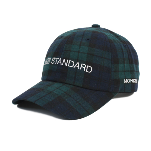 MONKIDS몬키즈_NEW STANDARD Standard Check 6P navy/green