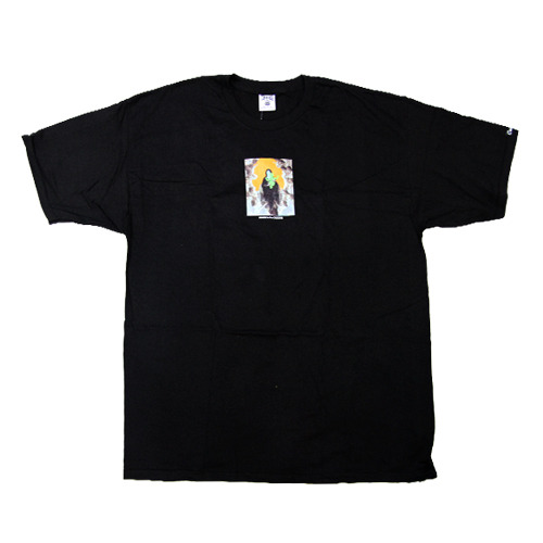 CROOKS & CASTLES Men's Knit Crew T-Shirt - Death To The Crooks black