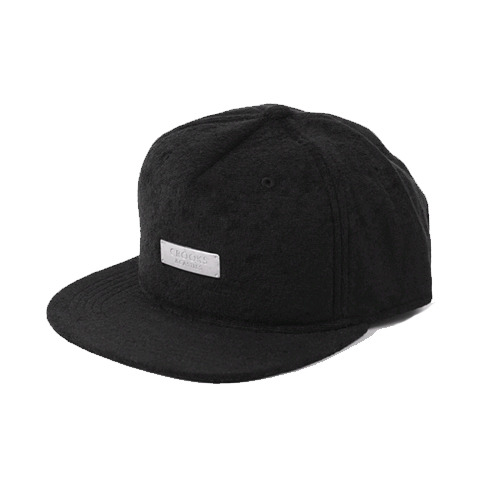CROOKS & CASTLES Men's Woven Snapback Cap - Metal Badge