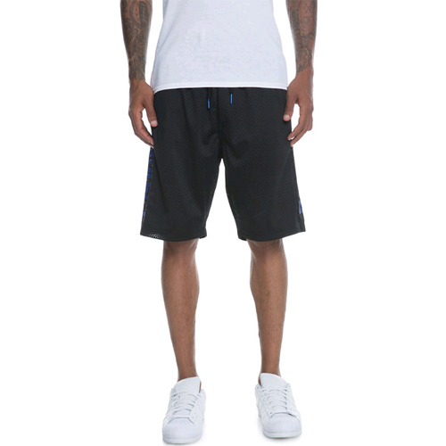 CROOKS AND CASTLES Basketball Shorts - Circuit BLACK