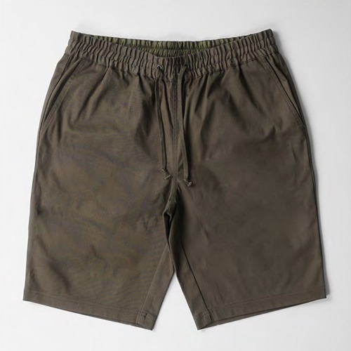 CROOKS AND CASTLES Men's Woven Shorts - Cyclone RIFLE GREEN