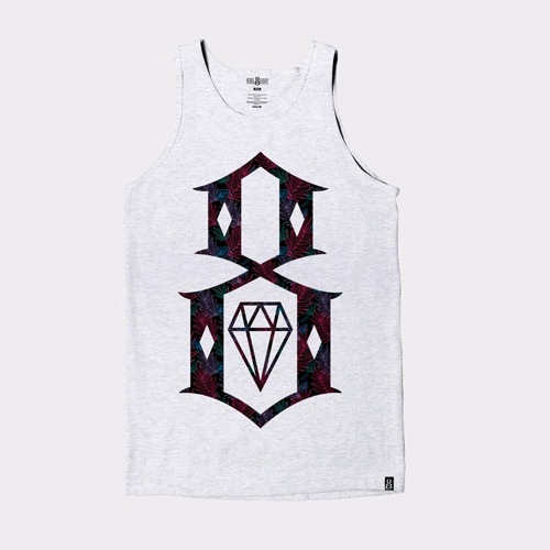 REBEL8레벨에잇__DALMAE TANK ATHLETIC GREY