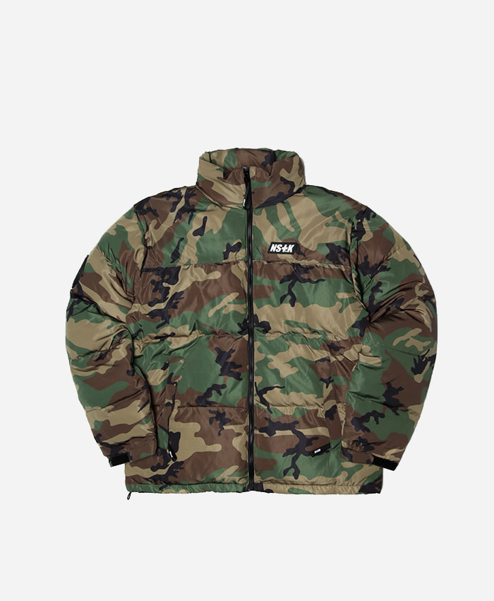 NASTY KICK네스티킥_[NSTK] LIKE FURY PADDING JACKET (CAMO)