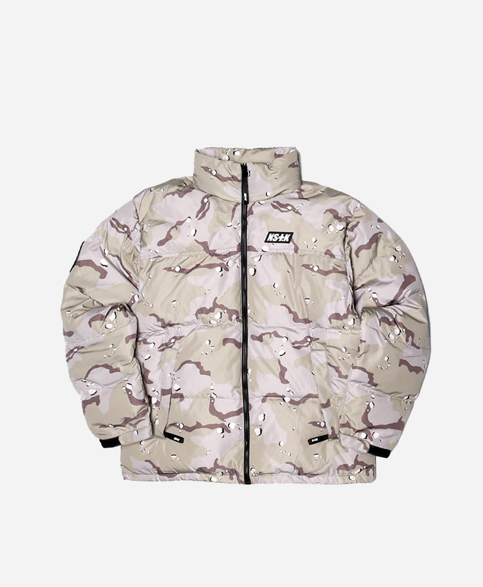 NASTY KICK네스티킥_[NSTK] LIKE FURY PADDING JACKET (DESERTCAMO)