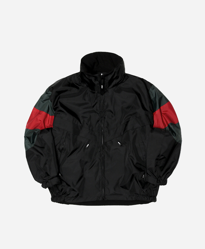NASTY KICK네스티킥_MILAZI JACKET (BLK-GREEN)