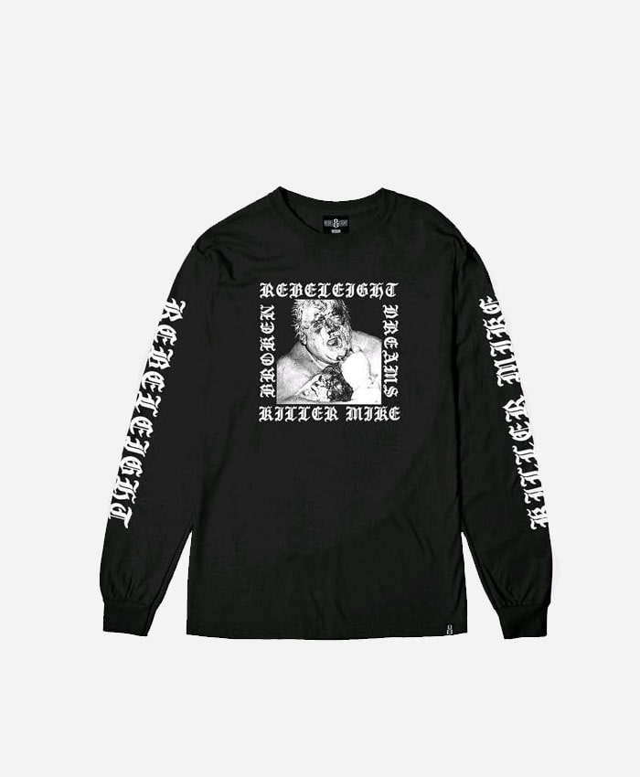 REBEL8레벨에잇_REBEL8 X KILLER MIKE Dusty Long sleeve Tee