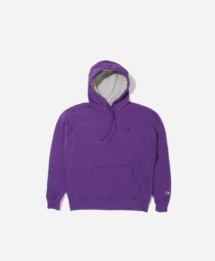 Champion챔피언_Powerblend Fleece Hoodie Purple