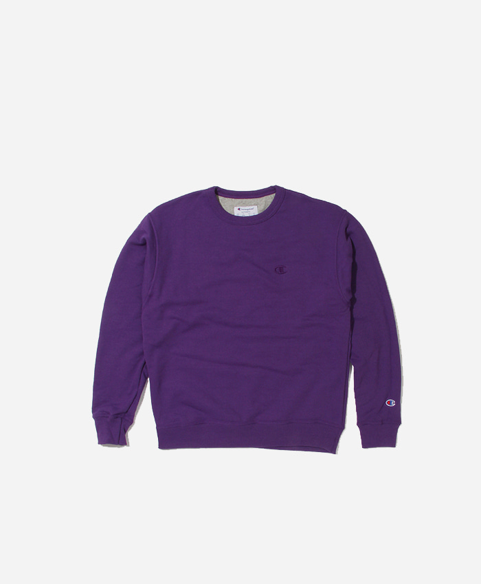 Champion챔피언_Powerblend Fleece Crew Purple