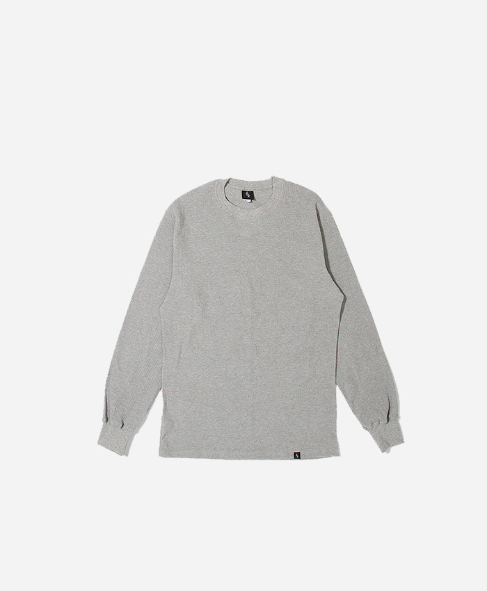 808팔공팔_808 Thermal l/s Grey