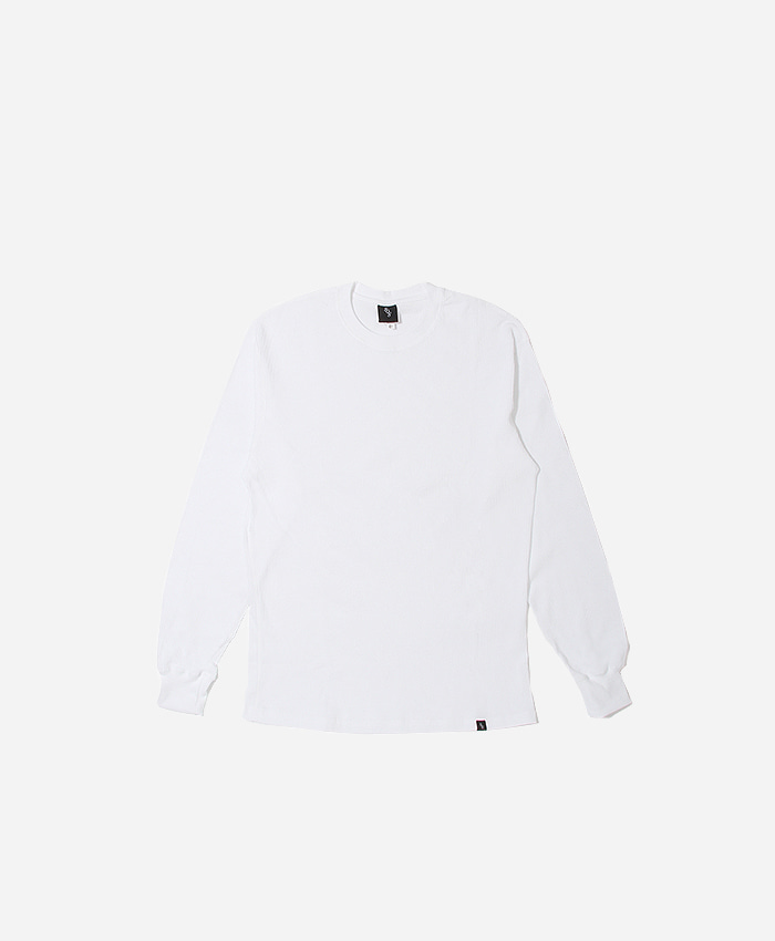 808팔공팔_808 Thermal l/s White