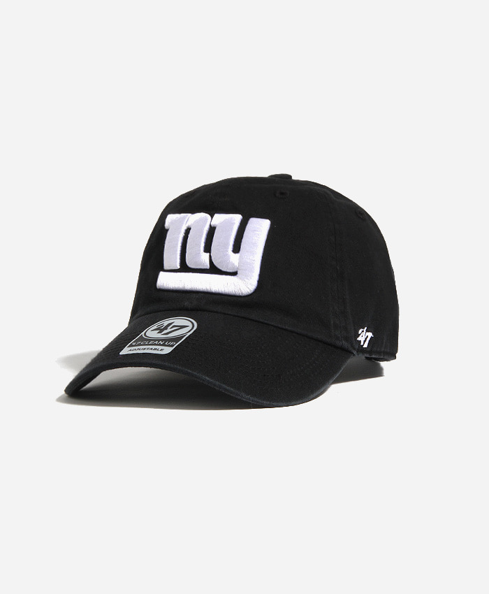 47 BRAND47BRAND NFL Clean Up Giants Black