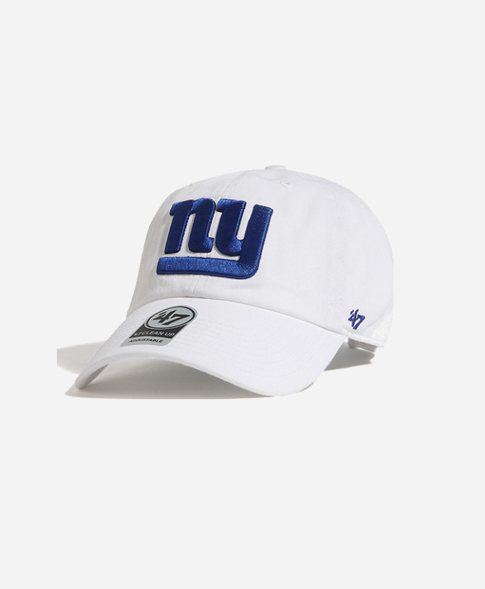 47 BRAND47BRAND NFL Clean Up Giants White
