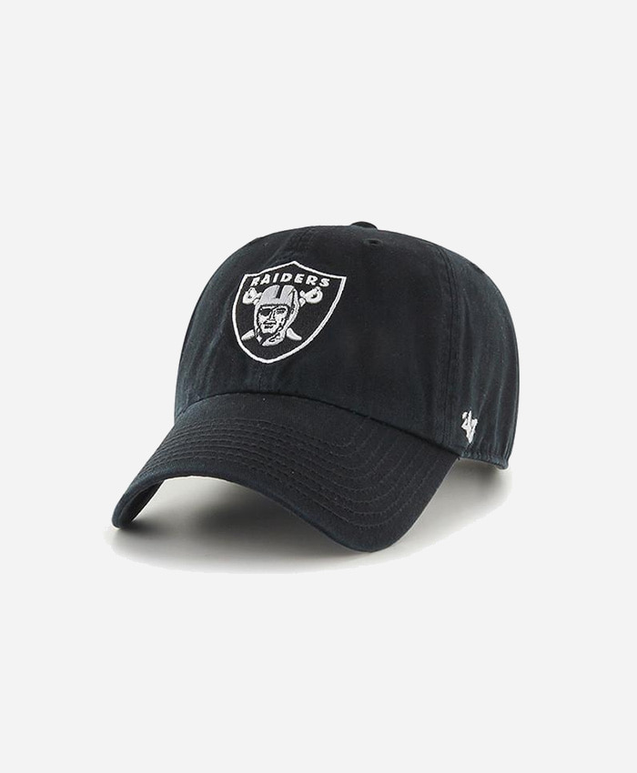 47 BRAND47BRAND NFL Clean Up Raiders Black