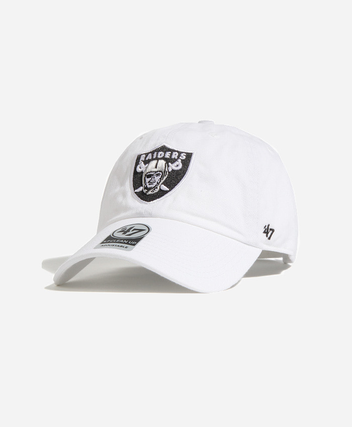 47 BRAND47BRAND NFL Clean Up Raiders White