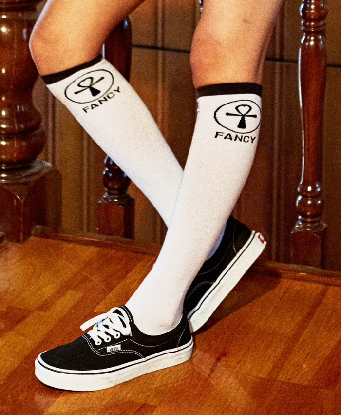 NASTY KICK네스티킥_[NSTK] NSTK S2 FANCY SKATE SOCKS (WHT)