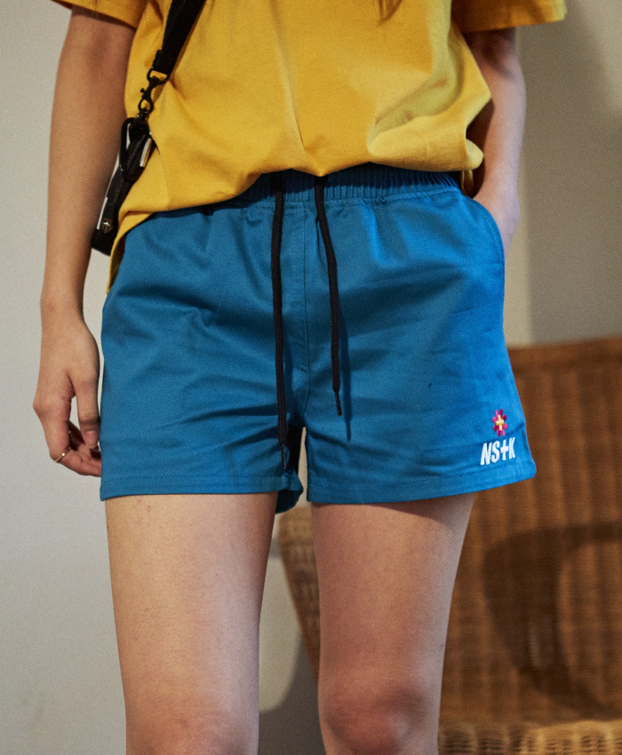 NASTY KICK네스티킥_[NSTK] NASTY FANCY SHORT PANTS (GREEN)
