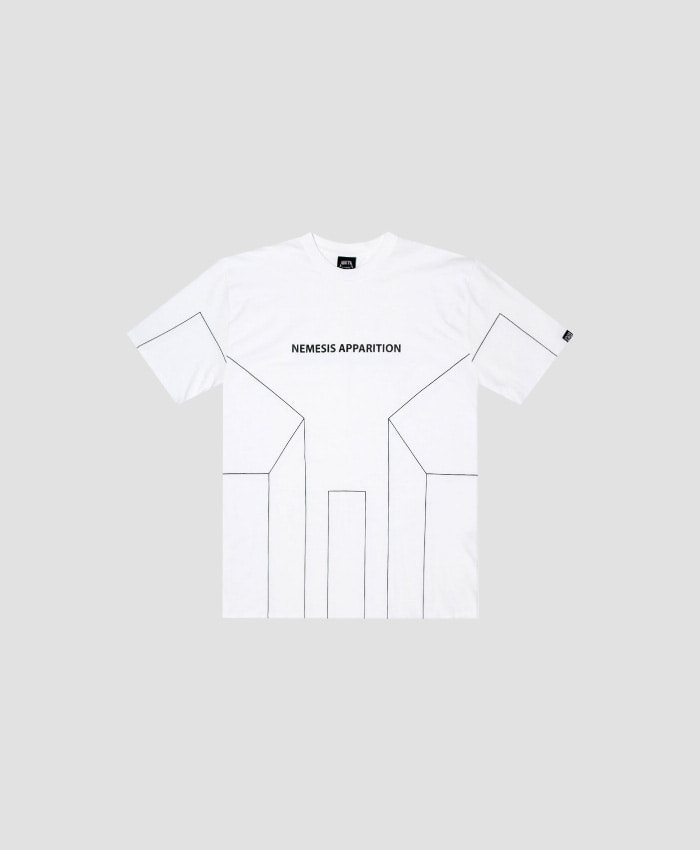 NASTY PALM네스티팜_[NYPM] DIMENSIONAL TEE (WHT)