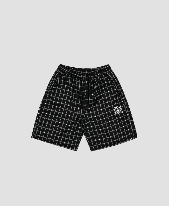 NASTY PALM네스티팜_[NYPM] 2ND NEMESIS SHORT PANTS (BLK)