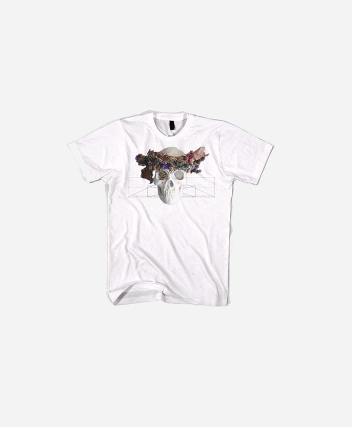 BLACKSCALE 블랙스케일_BLACKSCALE Natas Home T-Shirt White