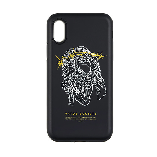 스티그마PHONE CASE JESUS ver.2 BLACK iPHONE 8 / 8+ / X