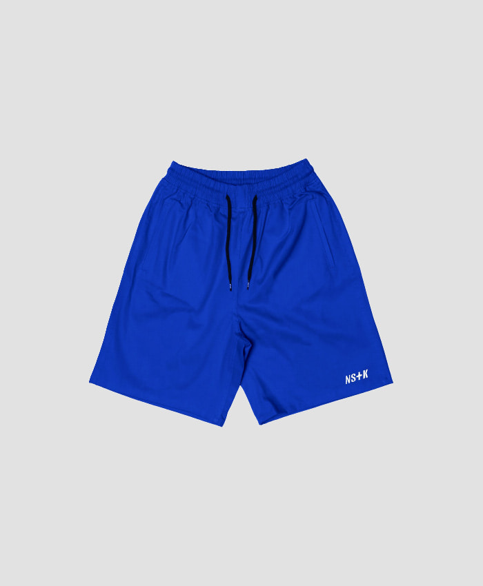 NASTY KICK네스티킥_[NSTK] EASY CODE 003 SHORT PANTS (BLUE)