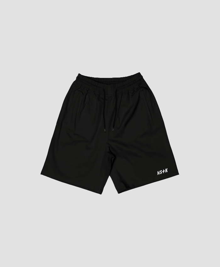 NASTY KICK네스티킥_[NSTK] EASY CODE 003 SHORT PANTS (BLK)