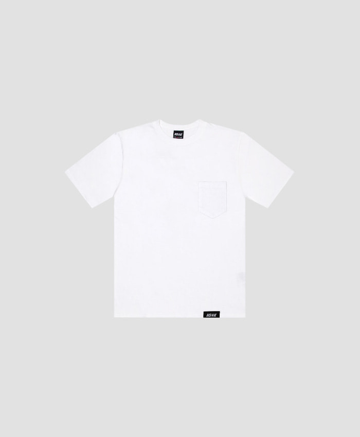 NASTY KICK네스티킥_[NSTK] EASY CODE 002 POCKET TEE (WHT)