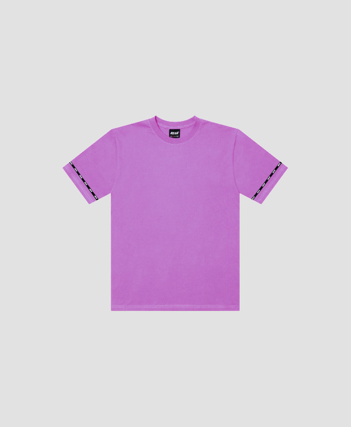 NASTY KICK네스티킥_[NSTK] EASY CODE 001 TEE (PURPLE)
