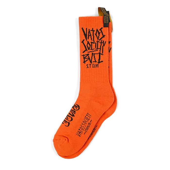 스티그마BVSC SKATE SOCKS ORANGE