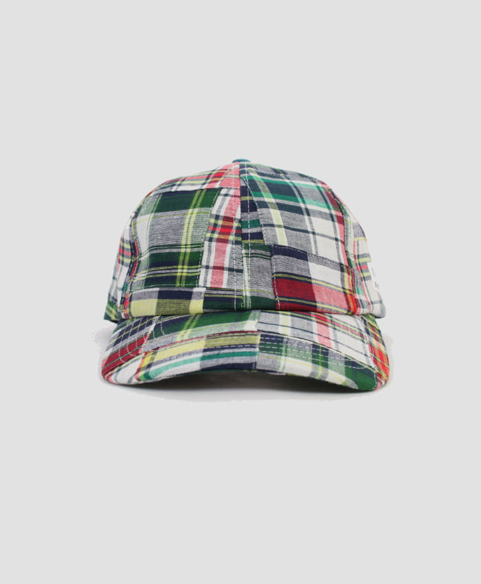 MONKIDS몬키즈_monkids_patchwork_check_6pcap_white