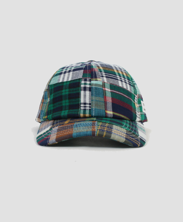 MONKIDS몬키즈_monkids_patchwork_check_6pcap_green