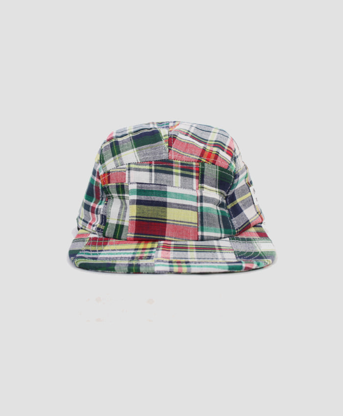 MONKIDS몬키즈_monkids_patchwork_check_5pcap_white