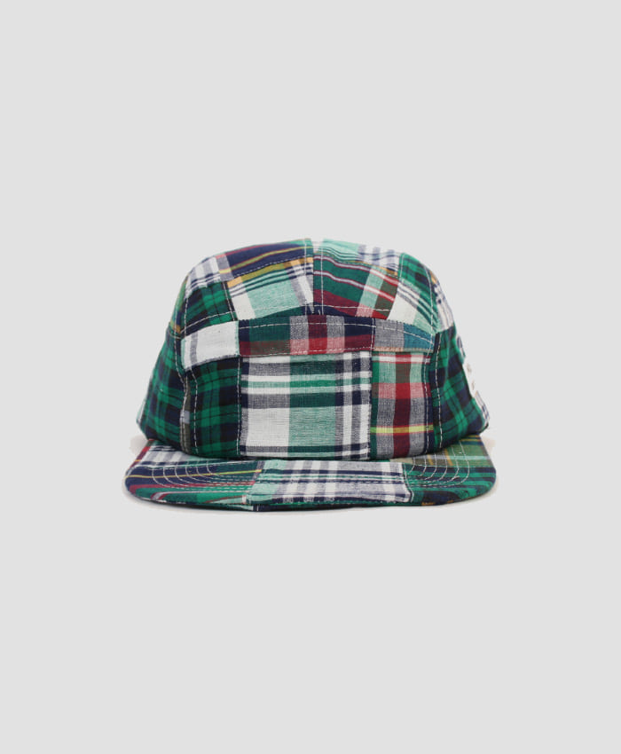 MONKIDS몬키즈_monkids_patchwork_check_5pcap_green
