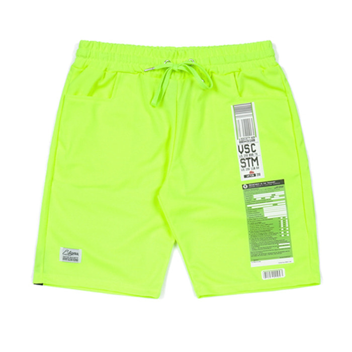 스티그마IMMIGRATION COOLON SHORT PANTS NEON GREEN
