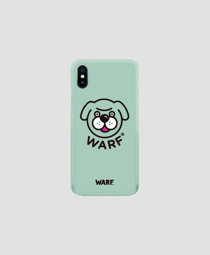 WARF Big Face Mobile Case Green