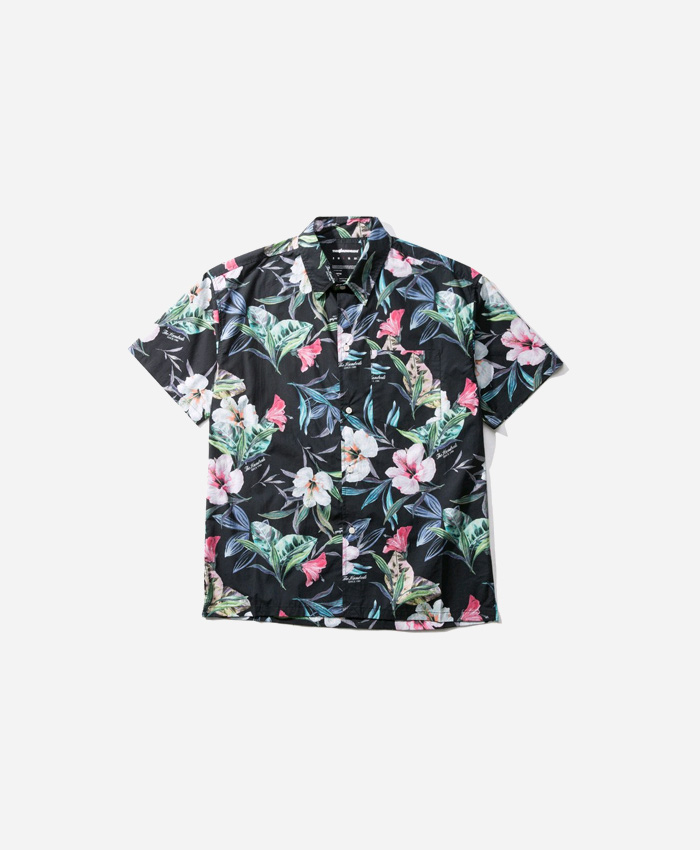 THEHUNDREDS더헌드레드_THE HUNDREDS HIBISCUS SS WOVEN