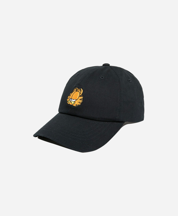 THEHUNDREDS더헌드레드_THE HUNDREDS X Garfield Mood Dad Hat BLACK