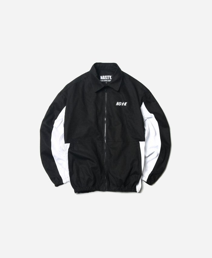 NASTY KICK네스티킥_NSTK JOHNNY WORK JACKET BLACK (NK18A010H)
