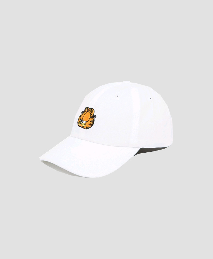 THEHUNDREDS더헌드레드_THE HUNDREDS X Garfield Mood Dad Hat WHITE