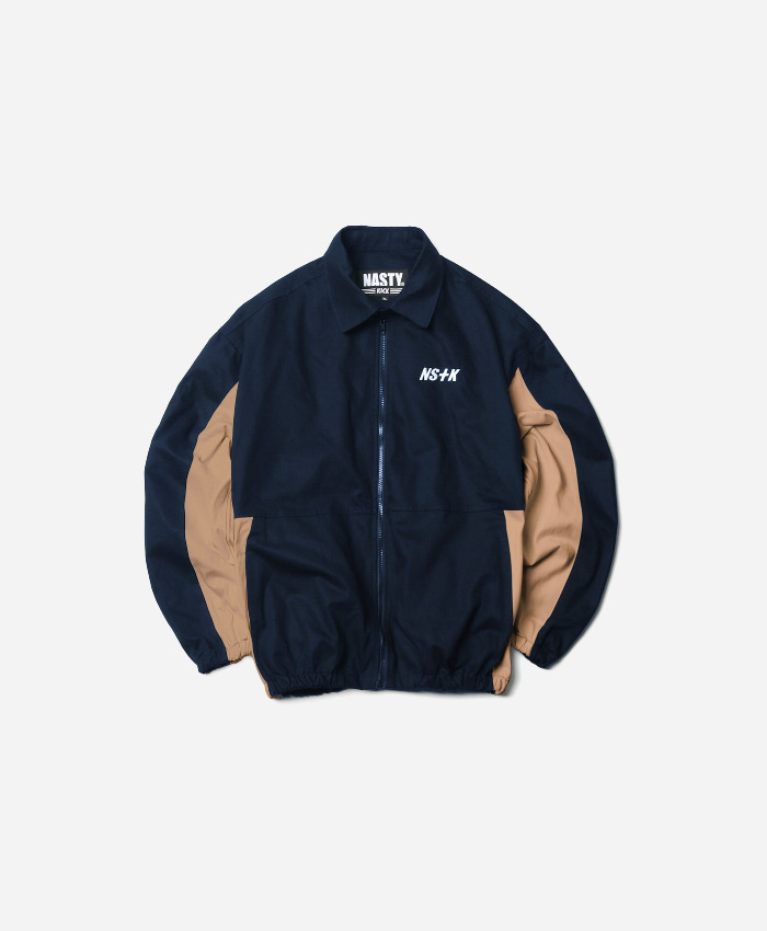 NASTY KICK네스티킥_NSTK JOHNNY WORK JACKET NAVY (NK18A010H)